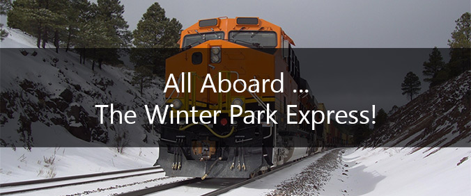 All Aboard The Winter Park Express!